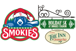 Holiday 5k at Smokies Stadium