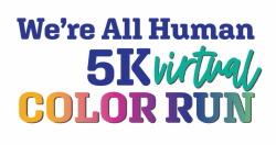 We're All Human Virtual 5K Color Run