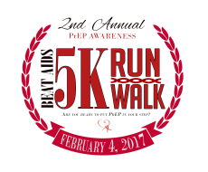 "3rd Annual ""PrEP In Your Step"" 5k Run/Walk"