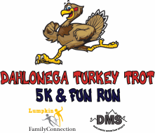 Dahlonega's 3rd Annual Thanksgiving Day Turkey Trot 5k and Fun Run
