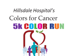 Colors for Cancer Run