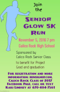 Senior Glow 5K by the CRHS Class of 2017 Benefitting Project Grad