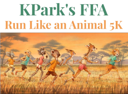 KPark FFA Run Like An Animal 1K and 5K