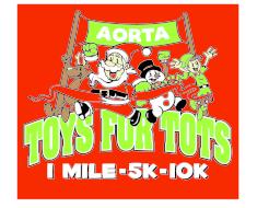 Auburn Toys for Tots 10k, 5k, 1 mile - AORTA