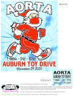 Virtual Auburn Toy Drive 10k, 5k, 1 mile - AORTA