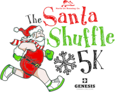 The Santa Shuffle 5k and Fun Run - December 10, 2016