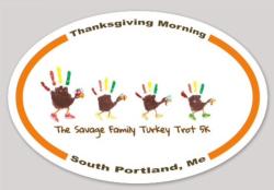 The Savage Family Turkey Trot 5k ( Run/Walk)