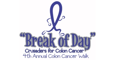 6th Annual Break Of Day Colon Cancer Awareness 5k Walk