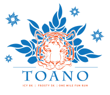Toano Icy 8k, Frosty 5k, and 1 Mile Fun Run