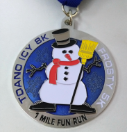 Toano Icy 8k, Frosty 5k, and 1 Mile Fun Run