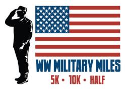 WW Military Miles 5k, 10k and Half Marathon