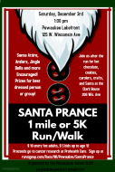 Santa Prance 1 mile or 5K Run/Walk