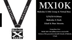 Malcolm X 10KGroup Run