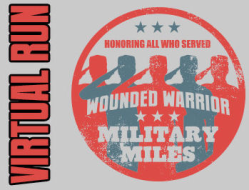 WW Military Miles Virtual 5k, 10k, Half Marathon