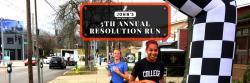 """John's Run/Walk Shop """"Make It"""" Resolution Run"""
