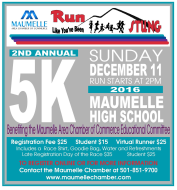 Run Like You've Been Stung Maumelle 5K