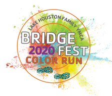 Lake Houston Bridge Fest Color Run