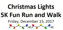 Anytime Fitness Hebron Christmas Lights 5K Fun Run