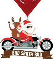 The Bad Santa Run - Virtual 5k/10k/Half Marathon