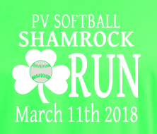 Pascack Valley Softball Shamrock 5K