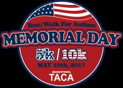Memorial Day Run/Walk for Autism 5k/10k & Fun Run