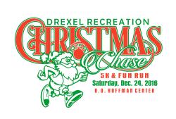 Drexel Recreation Christmas Chase 5K & Fun Run
