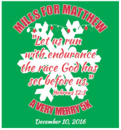 Miles for Matthew – A Very Merry 5K
