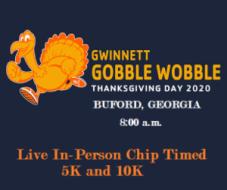 Gwinnett Gobble Wobble 5k/10k