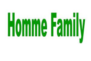 The Homme Family