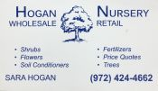 Hogan Nursery