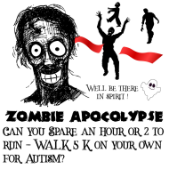 Zombie Apocalypse VIRTUAL 5K Run/Walk (formerly known as Shamrock Showdown 5K)