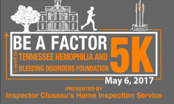Be a Factor 5K presented by Inspector Cluseau's Home Inspection Service