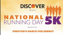 National Running Day 5K benefiting Preston's March for Energy