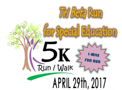 Tri Beta Run for Special Education
