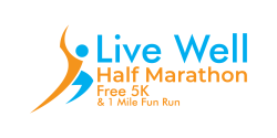 Live Well Half Marathon, Free 5K & 1 Mile Fun Run