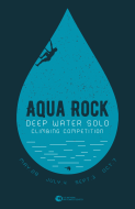 Aqua Rock Deep Water Solo Climbing Competition