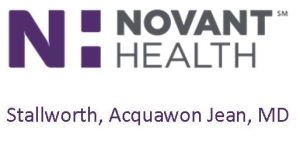 Novant Health Dr Acquawon Stallworth