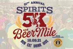 Spirit's 5K & Beer Mile benefiting MANNA HOUSE
