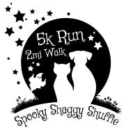 Shaggy Shuffle 5K Run/2M Dog Walk