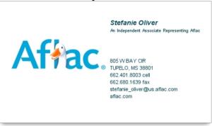 Aflac - Stefanie Oliver