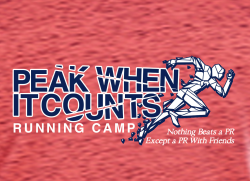Peak When It Counts Training Camp