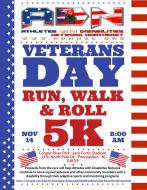 Veterans Day- Run, Walk & Roll 5k