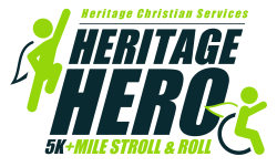 Heritage Hero 5K + Mile Stroll & Roll