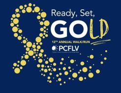 PCFLV's 12th Annual Ready, Set, Gold 5K Walk/8K Run/Kids' Fun Run (Virtual Option Available)