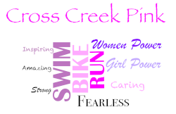 3rd Annual Cross Creek Ranch Pink Triathlon