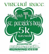 Virtual St. Patrick's Day 5K and Little Leprechauns Fun Run - Holbrook