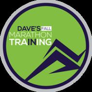 Dave's Fall Marathon Training 2019