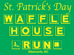 Vac and Dash Waffle House 10K Plus Run with 5K Option - Saint Patrick's Day Edition