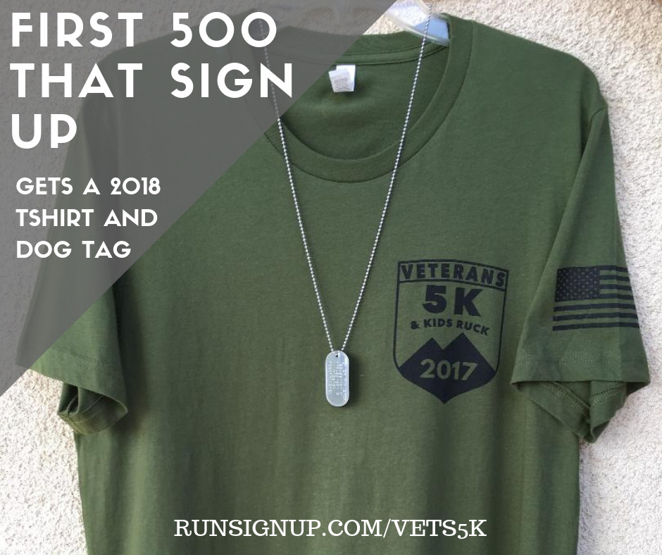 Saddleback College Veterans 5K