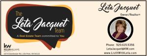 The Leta Jacquet Team - Keller Williams